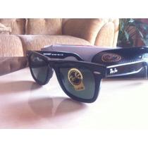 Oculos Ray Ban Wayfarer (preto E Vermelho)