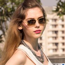 Óculos De Sol Aviador Marrom Degradê Feminino 3025/3026