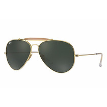 Ray Ban Aviador Rb3029 L2112 Dourado Outdoorsman Ii Original