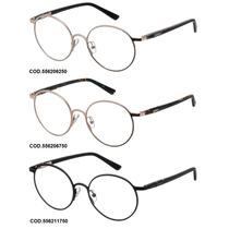 Armação Para Oculos De Grau Colcci 5562 Redonda - Garantia