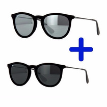 Óculos Ray Ban Erika Velvete Veludo Pague 1 Leve 2