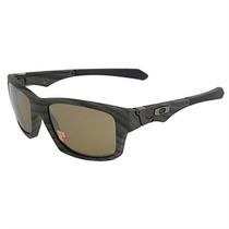 Óculos De Sol Masculino Oakley Acetato Textura De Madeira