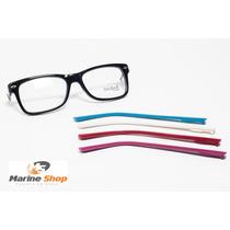 Óculos Troca Hastes Acetato Wayfarer Retrô * Armação P/ Grau