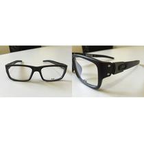 Armação Óculos De Grau Muffler Preto E Cinza Novo Disponível