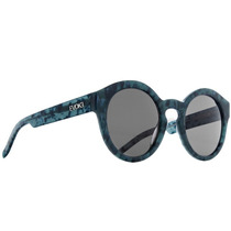 Oculos Solar Evoke Evk 12 Big Turtle Blue Gray Gradient