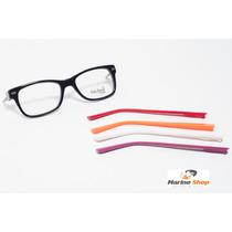 Óculos Troca Hastes Acetato Retrô Wayfarer * Armação P/ Grau