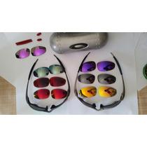 Óculos Oakley Jutiet Original Plasma Metal X Coleção Lentes