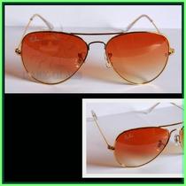 Óculos De Sol Rb3025 Aviador Tamanho M, Várias Cores