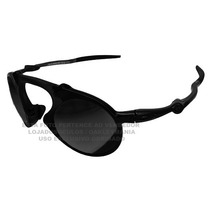 Oculos Madman Black Fosco Lente Black Polarizada Uv/uva 40