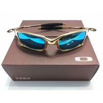 Oculos Oakley Double Xx Juliet X-squared 24k Lente Ice Thug