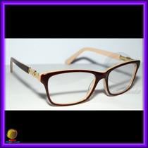 Óculos De Grau, Armação, Cor Marrom E Bege Chanel 3356
