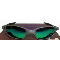 Oculos Juliete Xmetal Lente Esmeralda Polarizada Uv/uva400