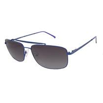 Lacoste L133s 424 Cetim Azul Óculos De Sol