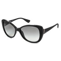 Oculos Vogue Feminino Estilo Gatinho Vo2819s W44/11 Preto