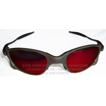 Oculos Double X Xmetal Lente Dark Ruby Polarizada Uv/uva 400