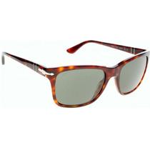 Oculos Persol Brown 3135-s 24/57 Havana Square Polarizado