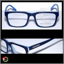 Armação Para Óculos De Grau Modelo Ea3035, Várias Cores.