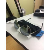 Óculos De Sol Hb Modelo Aviador Prata / Espelhado