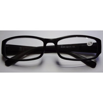 Óculos De Leitura Lente Com 3,50 Graus Positivo Preto Fosco