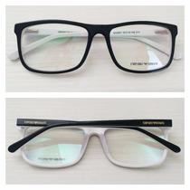 Armação Óculos De Grau Masculino Armani Ea3067