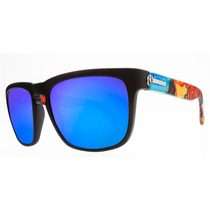 Electric Knoxville Xl Sunglasses Haunt Cinza Azul Do Cromo N
