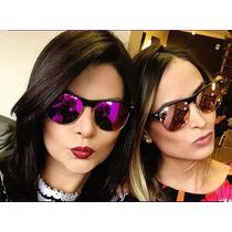 Oculos De Sol Feminino Oversized Clubmaster