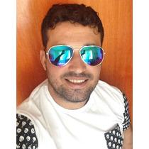 Óculos De Sol Quadrado 3 Cores Masculino   Feminino