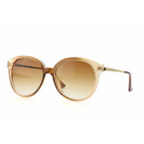 Óculos De Sol Feminino Redondo Cat Proteçao Uv 400