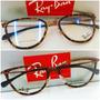 Armação P/óculos De Grau Rb6197 Tartaruga Compre O Seu