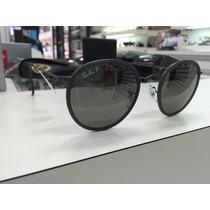 Oculos Ray Ban Redondo Rb 3517 029/n8 51 Polarizado Dobravel