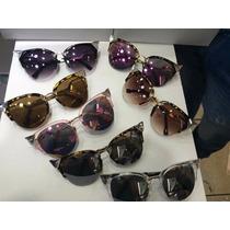 Óculos De Sol Iridi Blogueira Várias Cores + Frete Grátis