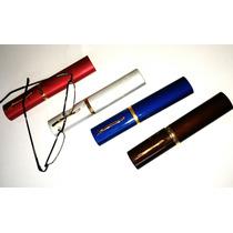 4 Pç Armação Oculos De Grau C/ Lentes Perto + 2,5 Promoção