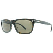 Óculos De Sol Masculino Tom Ford 337 Hugh 56j Havana Tf337