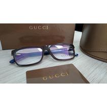 Armação Gucci Para Óculos De Grau - Original - Linda