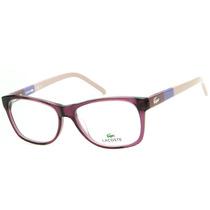 Armação Para Óculos De Grau Lacoste L2691 Feminina Retrô