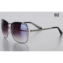 Óculos De Sol Polarizado Feminino / Redondo /alta Qualidade