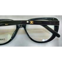 Óculos Armação De Grau Chanell Clássico