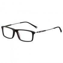 Armação Óculos Grau Fórum F6012a0252 Preto Brilho - Refinado