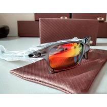 Oculos Oakley Double X Juliet 24k Squared Carbon Lente Ruby