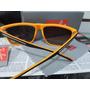 Óculos Quadrado Rb 13103 Preto -laranja Com Lente Degrade