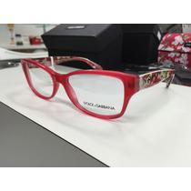 Oculos Receituario Dolce Gabbana Dg 3204 2850 55 Made Italy