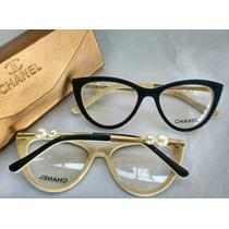 Óculos Armação De Grau Chanell - Vários Modelos