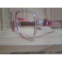 Armação P/ Grau Abs. Calixto Calixtin Rosa Frete Grátis