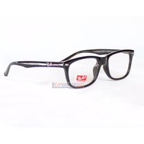 Armação Oculos Grau Rayban Rb5228 Masculino Feminino Barato