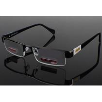 Armação Óculos De Grau Unissex Executivo Masculino Feminino
