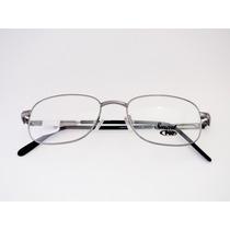 Armação Para Óculos Smart Metal Grafite Quadrada