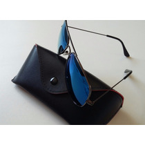 Óculos De Sol Aviador Espelhado Uv400
