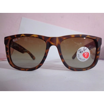 Oculos Ray Ban Justin Tartaruga Original Frete Gratis
