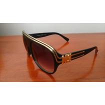 Óculos De Sol Louis Vuitton Millionaire Black Pronta Entrega
