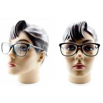 Armação Feminina Em Acetato Óculos P/ Grau 2016 - 7281 C580